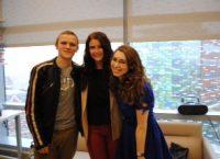 Savannah Outen, Bo Oliver and Leora Friedman