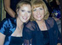 Rachel and me at Sam's wedding