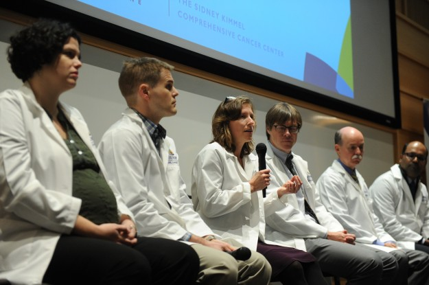 Panel of experts at the Johns Hopkins Kimmel Cancer Center