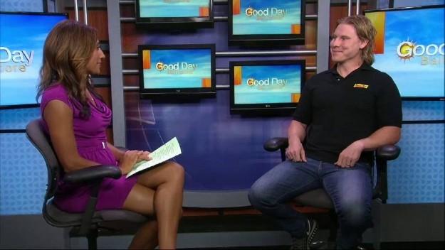 Brian Boyle on FOX45 TV