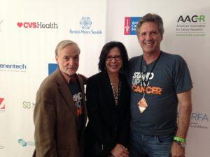 Steve Baylin, Elizabeth Jaffee and Bill Nelson.